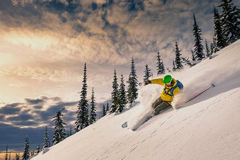 Allt för<br />skidorna